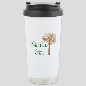 Nature Girl Butterfly Stainless Steel Travel Mug