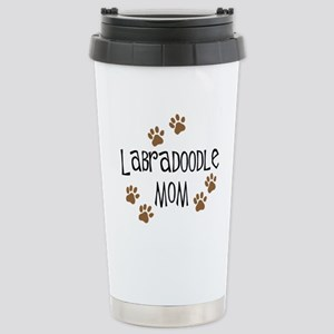 Labradoodle Mom Stainless Steel Travel Mug