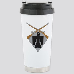 45th Infantry Stainless Steel Travel Mug