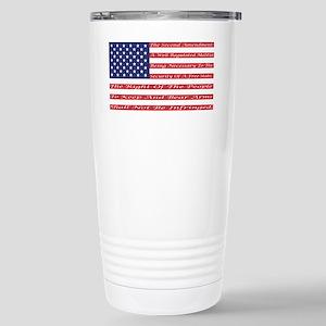 2nd Amendment Flag Travel Mug