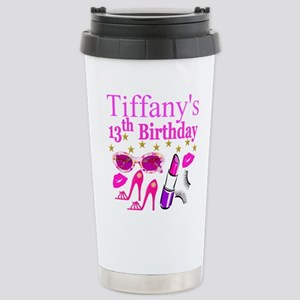 PERSONALIZED 13TH Stainless Steel Travel Mug