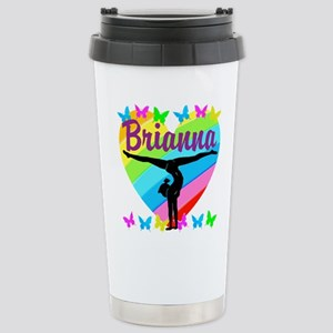 PERSONALIZE GYMNAST Stainless Steel Travel Mug