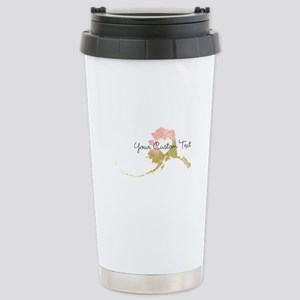 Personalized Alaska State Travel Mug