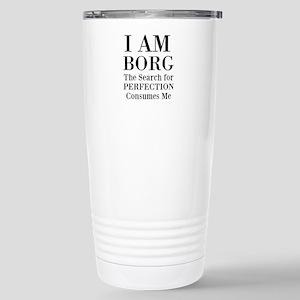 Borg Star Trek Meme Travel Mug