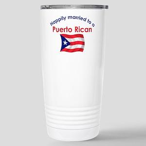 Happ Married Puerto Rican 2 Stainless Steel Travel