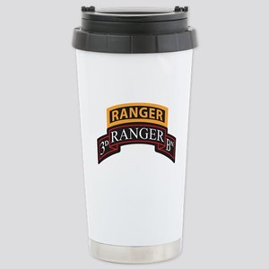 3D Ranger BN Scroll with Rang Stainless Steel Trav