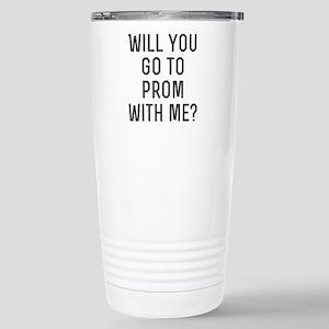 Prom? Stainless Steel Travel Mug