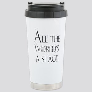 All the Worlds a 16 oz Stainless Steel Travel Mug