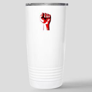 Power Fist Stainless Steel Travel Mug