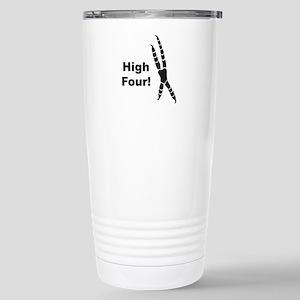 High Four Stainless Steel Travel Mug