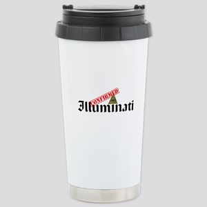 Illuminati Confirmed Stainless Steel Travel Mug