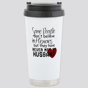 Husband hero Stainless Steel Travel Mug