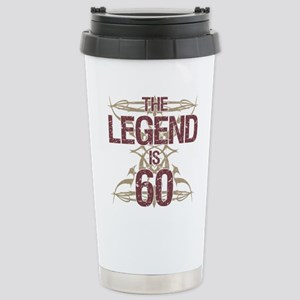 Men's Funny 60th Birthd Stainless Steel Travel Mug