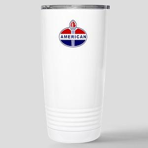American Oil Stainless Steel Travel Mug