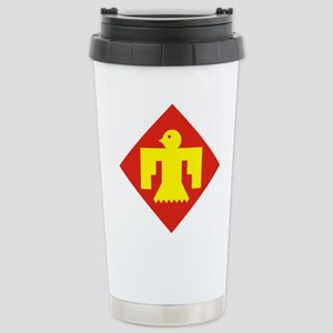 45th Infantry Division. Stainless Steel Travel Mug