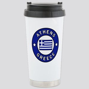 Athens Greece Stainless Steel Travel Mug