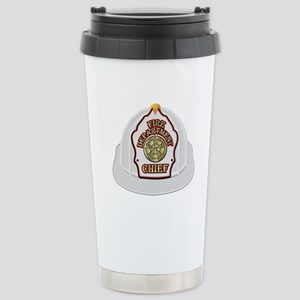Traditional Fire Depart Stainless Steel Travel Mug