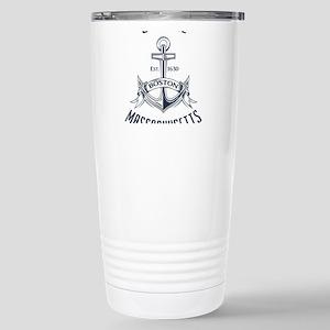 Southie, Boston MA Stainless Steel Travel Mug