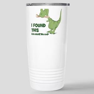 Cartoon Dinosaur Stainless Steel Travel Mug