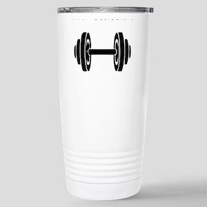 Dumbbell Travel Mug