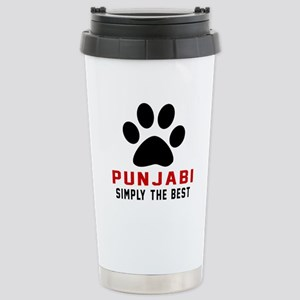 Punjabi Simply The Best Stainless Steel Travel Mug