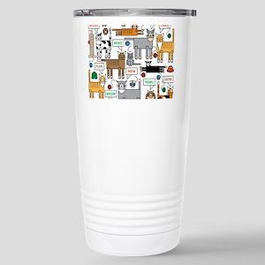 What Cats Say Travel Mug