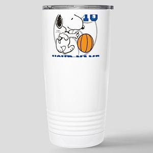 Snoopy Basketball - Per Stainless Steel Travel Mug