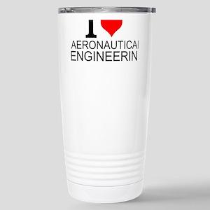 I Love Aeronautical Engineering Travel Mug