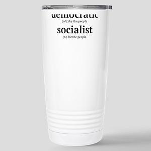 democratic socialist Travel Mug