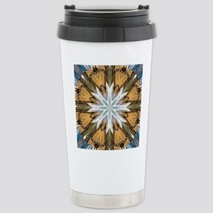 12 Apostles Mandala Stainless Steel Travel Mug