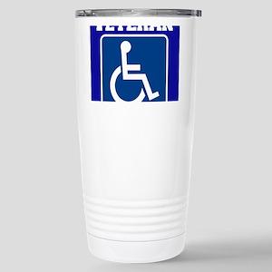Disabled Handicapped Veteran Travel Mug