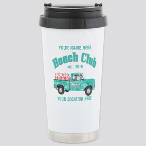 Flamingo Beach Club Travel Mug