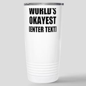 World's Okayest Personalize It! Mugs