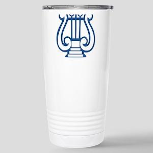 Tau Beta Sigma Logo Stainless Steel Travel Mug