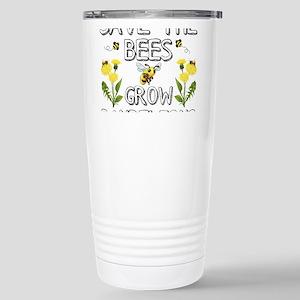 Save The Bees Grow Dandelions Travel Mug