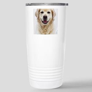 Dog Photo Customi 16 oz Stainless Steel Travel Mug