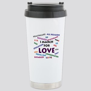I March for Love Mugs