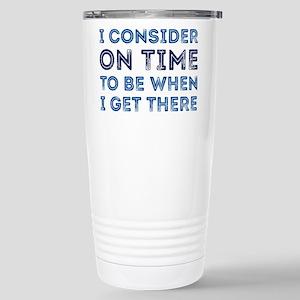 I Consider On Time Mugs