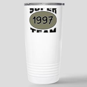 Super Team 1997 16 oz Stainless Steel Travel Mug