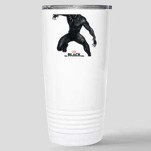 Black Panther Pos 16 oz Stainless Steel Travel Mug