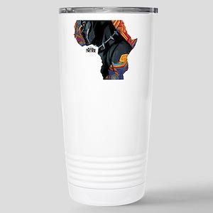 Black Panther Afr 16 oz Stainless Steel Travel Mug