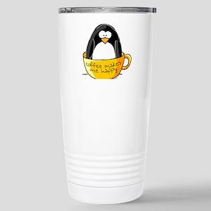 Coffee penguin Stainless Steel Travel Mug