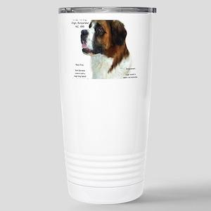 Saint Bernard (Ro 16 oz Stainless Steel Travel Mug