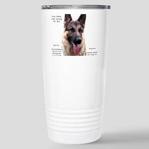 GSD 16 oz Stainless Steel Travel Mug
