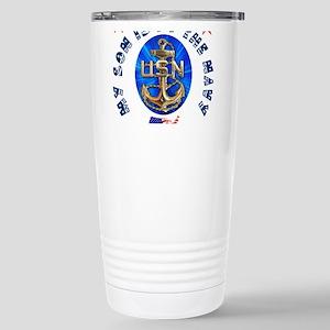 Navy Son Stainless Steel Travel Mug