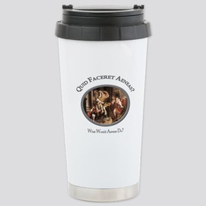 What Would Aeneas Do? Stainless Steel Travel Mug