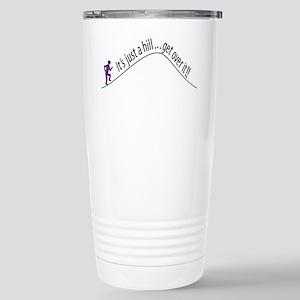 Get Over It (Running) Stainless Steel Travel Mug