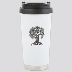 The Reading Tree Stainless Steel Travel Mug