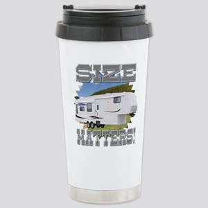 Size Matters Fifth Whee Stainless Steel Travel Mug
