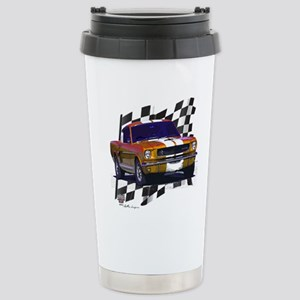 1966 Mustang Stainless Steel Travel Mug
